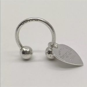SALE SAT&SUN ONLY Tiffany & Co Key Heart Tag Ring